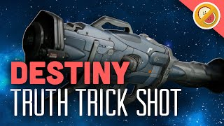 getlinkyoutube.com-Destiny How to Trick Shot with the Truth :  Funny Gaming Moments (PS4 Gameplay)