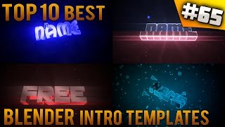 getlinkyoutube.com-TOP 10 BEST Blender intro templates #65 (Free download)