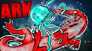 getlinkyoutube.com-ARK Survival Evolved - RESOURCE CROP MOD & ALPHA KAPROSUCHUS TAMING #11 - ARK Extinction Mod Gamplay