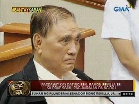 kay dating Sen. Ramon Revilla Sr. sa PDAF scam, pag-aaralan pa ng DOJ