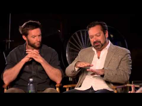 Live Chat with Hugh Jackman and James Mangold from The Wolverine Set