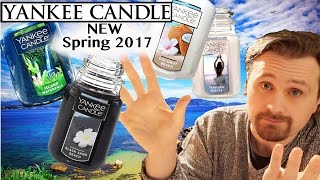 getlinkyoutube.com-Yankee Candle 4 NEW Fragrances 2017 SPRING | Candle Review HAUL  |  Mediterranean Collection