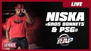 """getlinkyoutube.com-Niska """"Gros Bonnets"""" et """"Psg"""" en live dans Planète Rap"""