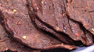 getlinkyoutube.com-Homemade Beef Jerky in the Oven