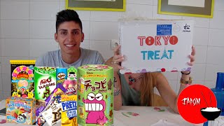 getlinkyoutube.com-Probando Chuches Japonesas con Mi Novia | TokyoTreat
