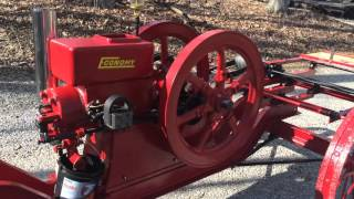 Economy 5 hp hit & miss saw rig