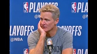 Steve Kerr Gives Update On Kevin Durant & Shaun Livingston's Ankle Injuries