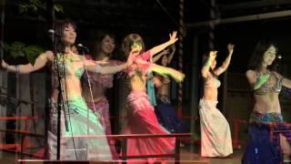 getlinkyoutube.com-高津宮(高津神社)夏祭りの様子 ベリーダンス、和太鼓ほか 2015 7/18