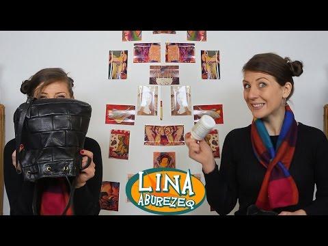 What's in My Bag - ماذا يوجد في حقيبتي - يوم عادي مع لينا