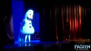 """getlinkyoutube.com-""""¿Y Si Hacemos Un Muñeco?""""/Do You Want To Build a Snowman? FROZEN EL MUSICAL"""