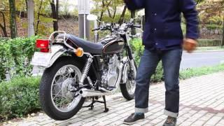 Yamaha SR400 mostyn exhaust