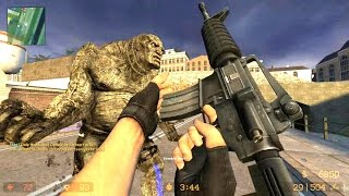 getlinkyoutube.com-Counter Strike Source Zombie Horror Boss fight Online Gameplay on Coroners map