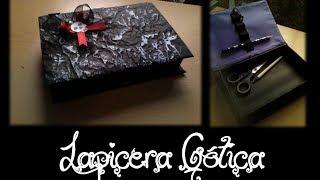 ¿como hacer una Lapicera Gótica? - Scarlet Bloody tutoriales