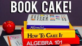 getlinkyoutube.com-How To Make A BACK-TO-SCHOOL BOOK CAKE! Chocolate cakes inspired by the AsapSCIENCE Book!