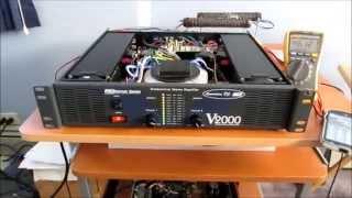 getlinkyoutube.com-American DJ V2000 amplifier repair