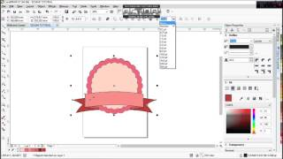 getlinkyoutube.com-EEGAMI CORELDRAW TUTORIAL Cara Membuat Cute Badge Logo Sederhana