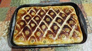 getlinkyoutube.com-بقلاوة / بقلاوة مالحة بالخضر و التون مع طبخ ليلى baklava salée