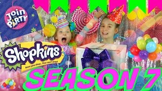 SHOPKINS SEASON 7 JOIN THE PARTY Princess Party Collection New LIMITED EDITION And Playsets!!