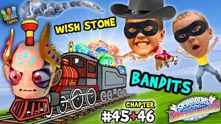 getlinkyoutube.com-WISH STONE BANDITS!  Lets Play SKYLANDERS SUPERCHARGERS Chapter 45 & 46: Highway Robbery on a Train