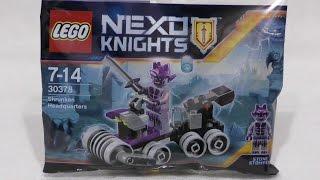 getlinkyoutube.com-LEGO Nexo Knights 30378 Kwatera Shrunken Head
