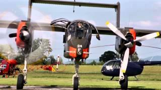 getlinkyoutube.com-Bronco OV10B North American Rockwell at the Kehl airshow