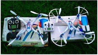 getlinkyoutube.com-Two X6 Tarantula Quads with BAD Gyros
