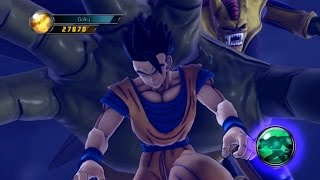 getlinkyoutube.com-Dragonball Z Ultimate Tenkaichi Mod - Z Fighters vs Hirudegarn Boss Fight