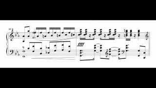 getlinkyoutube.com-【楽譜】perditus†paradisusを超絶技巧ピアノ練習曲にしてみた。