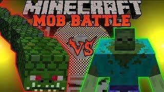 getlinkyoutube.com-Mutant Zombie Vs. Naga - Minecraft Mob Battles - Mutant Creatures and Twilight Forest Mods