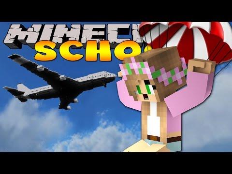 Minecraft School : THE CLASS GO SKY DIVING!!