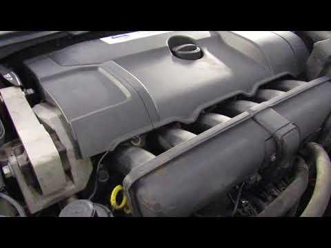 Расположение номера двигателя в Вольво XC70