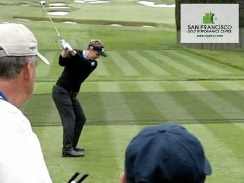 Luke Donald Slow Motion Golf Swing DL 300 FPS