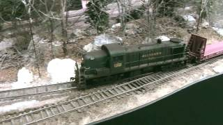 getlinkyoutube.com-Switching Andover ME on the Allagash | Model railroad Allagash | Model Railroad Hobbyist | MRH