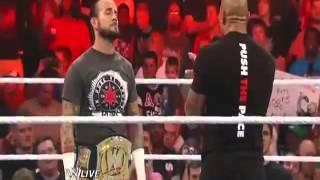 getlinkyoutube.com-The Rock Return At RAW 1000 7/23/2012
