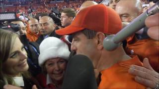 getlinkyoutube.com-Dabo Swinney's first post-game on field interview