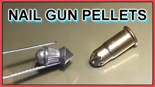 getlinkyoutube.com-.22 Ammo for the Apocalypse - Hybrid Pellet/Nail Gun Blank rounds