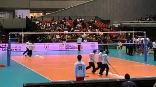 getlinkyoutube.com-鎮西高等学校vs駿台学園高等学校 3セット終盤~