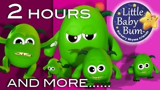 getlinkyoutube.com-Five Little Monsters | And More Nursery Rhymes | 2 Hours Compilation From LittleBabyBum!