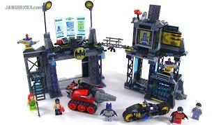 getlinkyoutube.com-LEGO Super Heroes - The Bat Cave review! set 6860