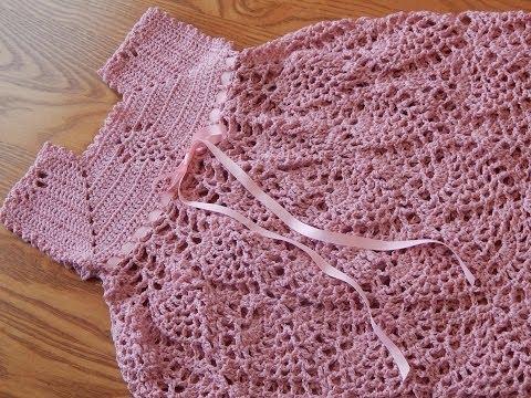 Vestidos a crochet con piñas - Imagui