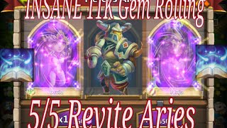 getlinkyoutube.com-11K Gem Rolling F2P 5/5 Revite Aries - Future Giveaway ???
