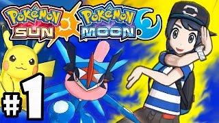 getlinkyoutube.com-Pokemon Sun and Moon Demo PART 1 - Nintendo 3DS Gameplay - Ash-Greninja, Pikachu Z-Move, Team Skull