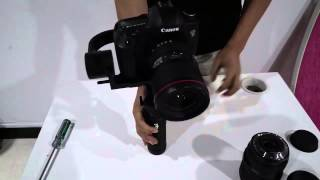 getlinkyoutube.com-Beholder DS1 (not MS1)3 axis gimbal  BALANCE with Canon 5D Mark III www.cnchelicopter.com