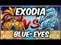 EXODIA VS BLUE-EYES! Yugioh Competitive Duel