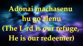 getlinkyoutube.com-Adonai Machasenu - Lyrics and Translation