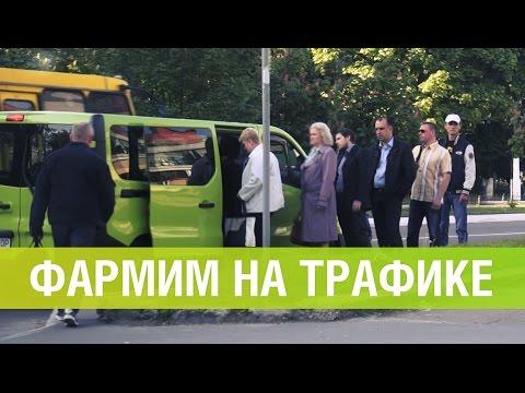 Renault Trafic 2015 - фармим на автобусе!