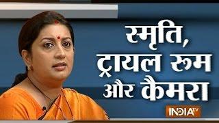 getlinkyoutube.com-Smriti Irani spots hidden camera in trial room of Goa FabIndia store - India TV