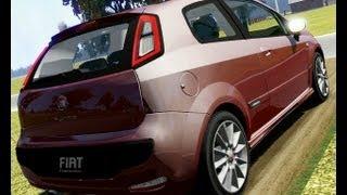 Fiat Punto Evo Sport drive (Links) - racer.nl