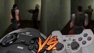 getlinkyoutube.com-Sega Saturn Vs PlayStation - Resident Evil