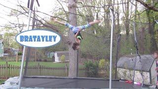 getlinkyoutube.com-High Flying Trampoline Flips (WK 224.7) | Bratayley